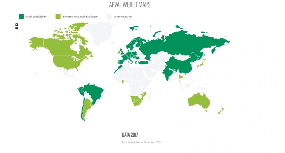 Arval wereldwijd