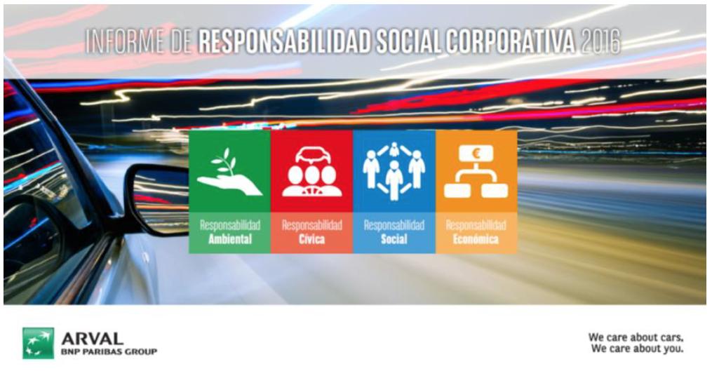 Informe de responsabilidad social corporativa 2016