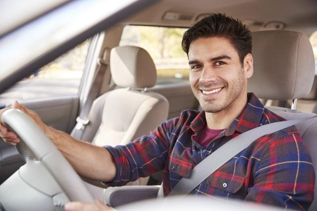 řidič s rodinou